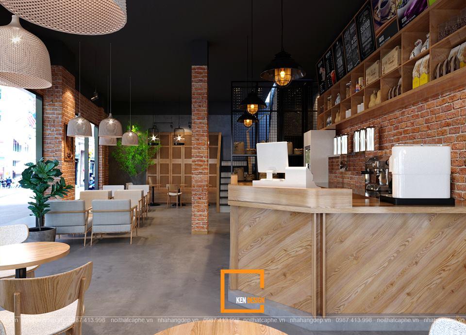 Lưu ý khi thiết kế quán café tại chung cư Vinhomes