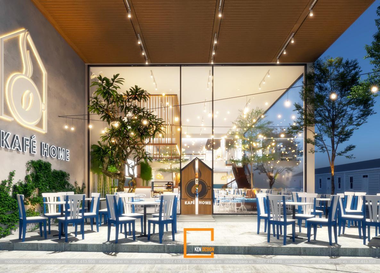 Thiết kế quán cafe Kafé Home tại Cần Thơ