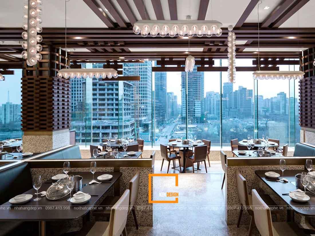 Điểm danh những mẫu thiết kế nhà hàng đẹp trên toàn quốc