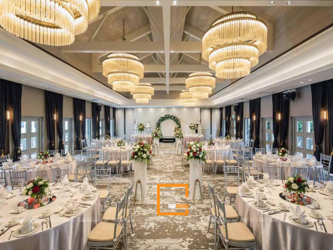 Ghi dấu ấn khách hàng với thiết kế nhà hàng tiệc cưới vạn người mê
