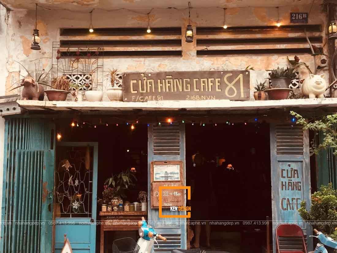 Trở về chốn xưa với mẫu thiết kế quán cafe phong cách Vintage