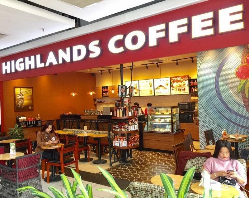 Khám phá thiết kế quán cafe Highlands Coffee – đẳng cấp ông lớn chuỗi cafe Việt Nam