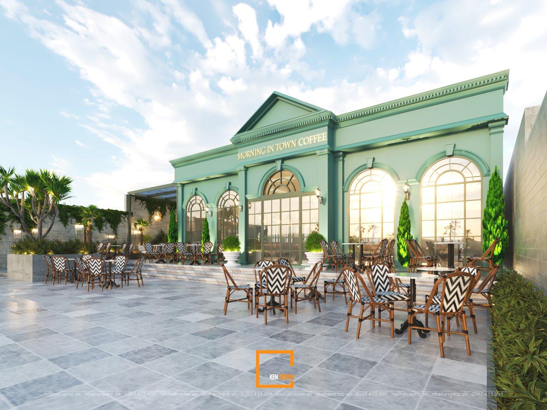 Dự án thiết kế quán cafe Morning in Town