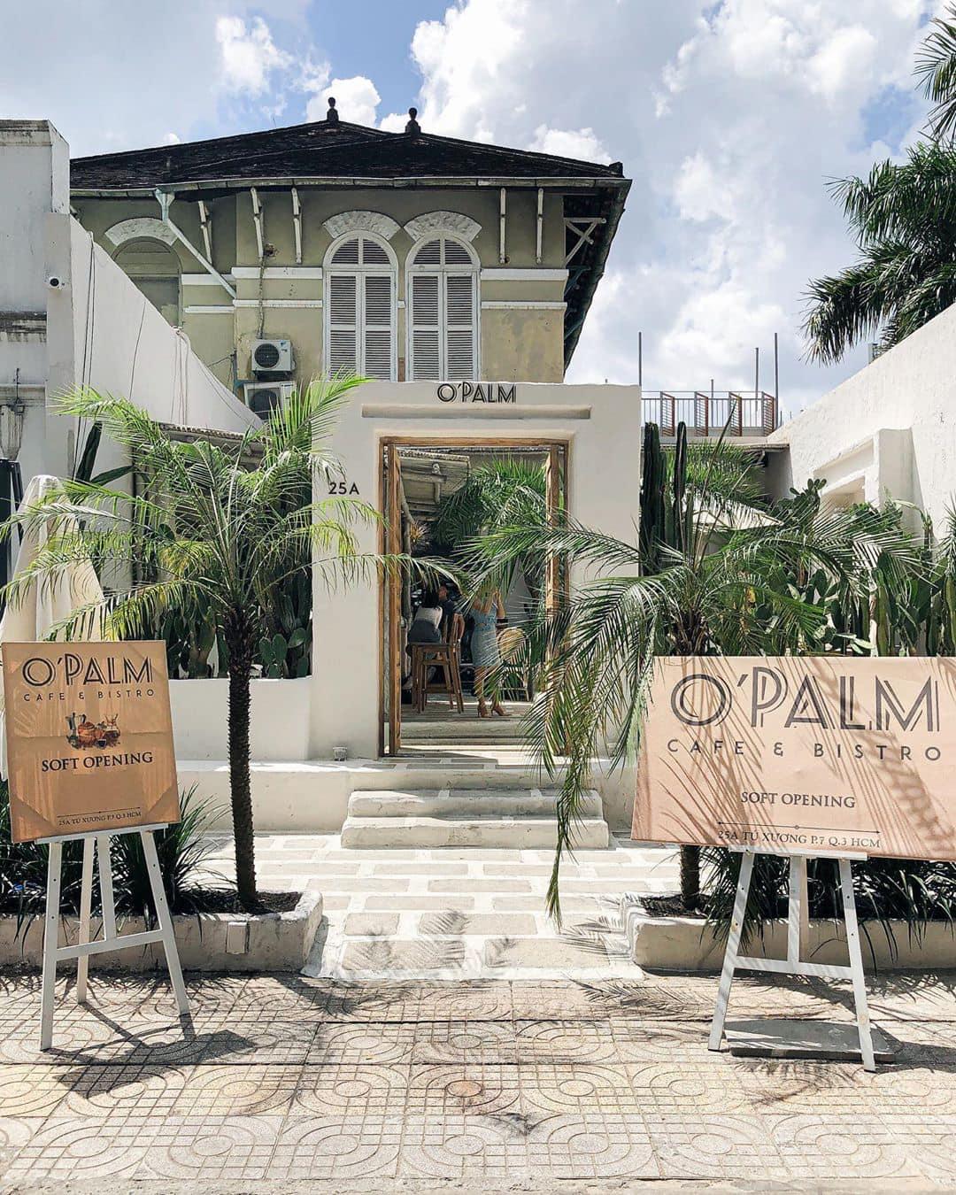 Mẫu thiết kế O'Palm Cafe & Bistro