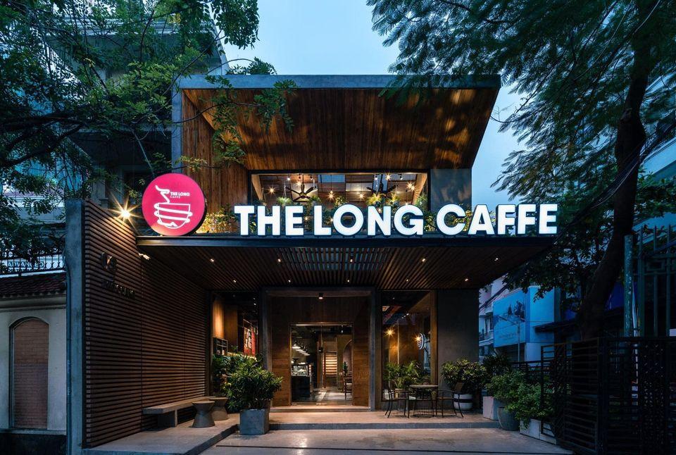 Mẫu thiết kế quán The Long Caffe