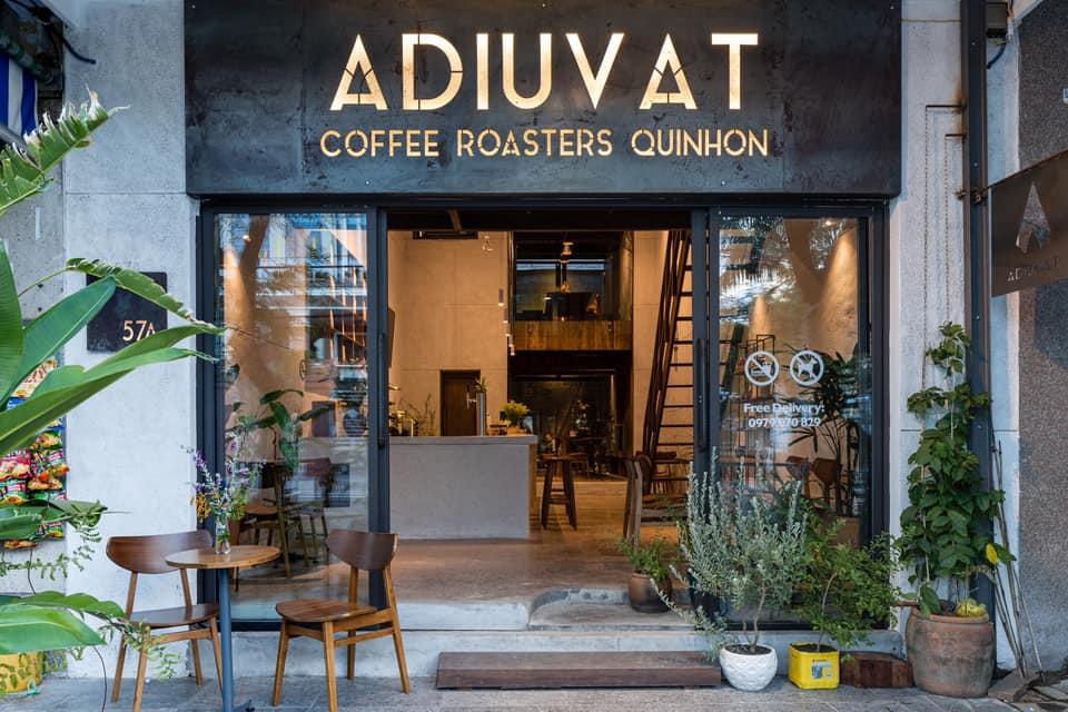 Mẫu thiết kế quán ADIUVAT COFFEE ROASTERS