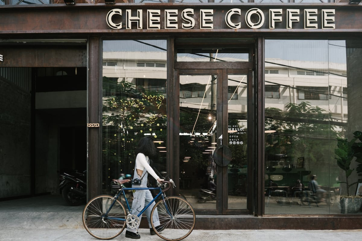 thiết kế cheese coffee