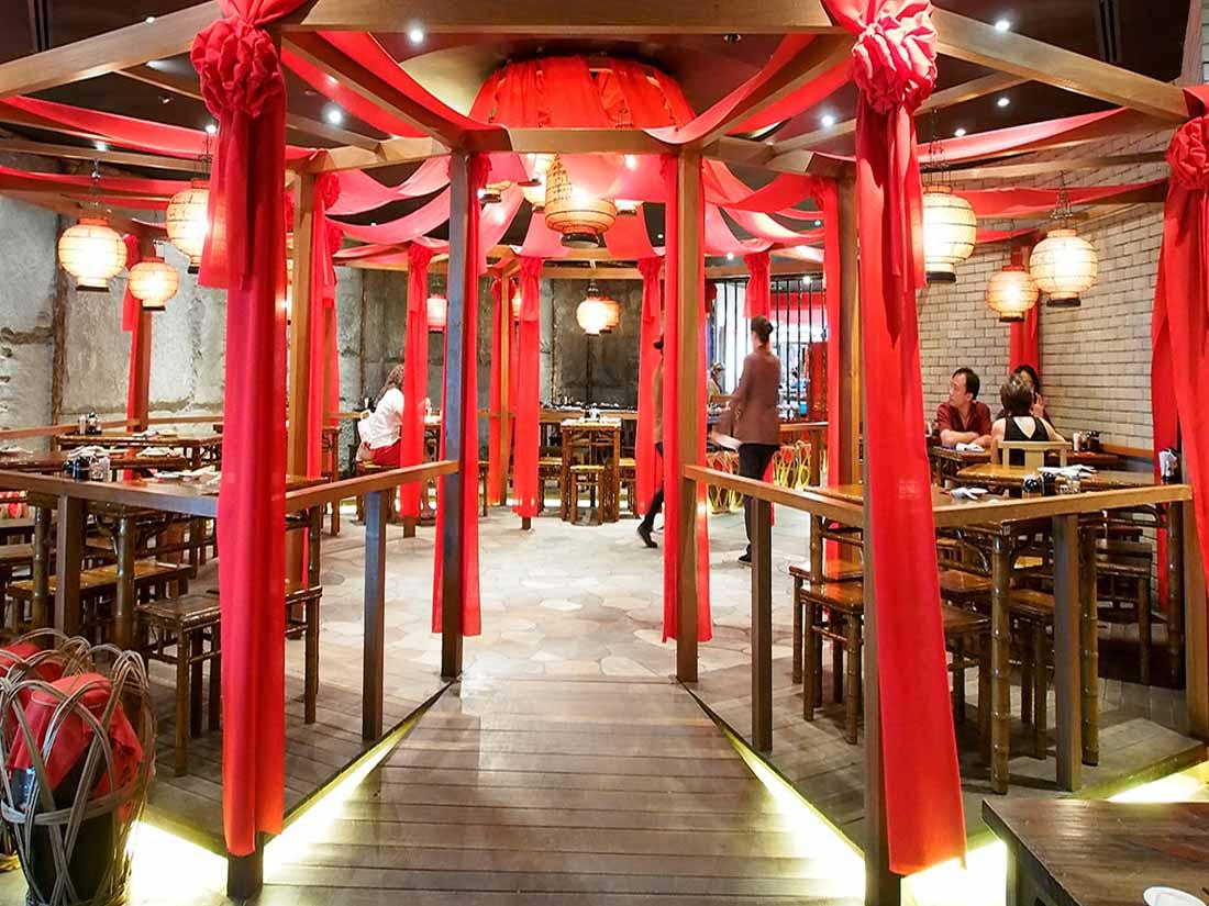 Thiết kế nội thất nhà hàng Trung hoa - nét đẹp truyền thống vượt thời gian