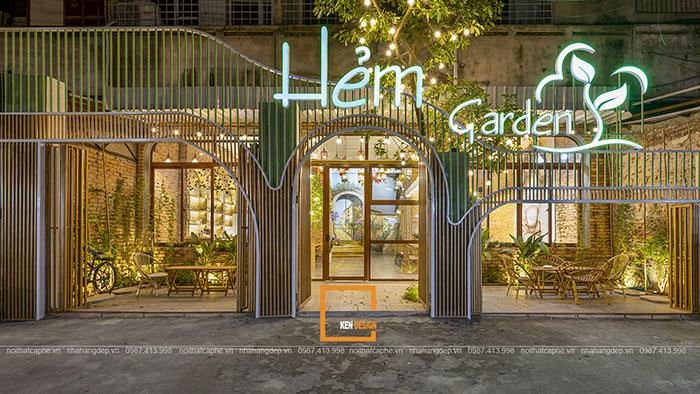Thiết kế quán cafe Hẻm Garden - địa điểm chill lý tưởng giữa lòng thủ đô