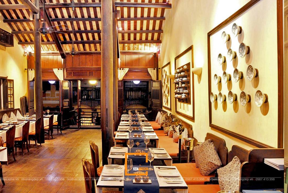 3 xu hướng thiết kế nhà hàng truyền thống trên thị trường Việt