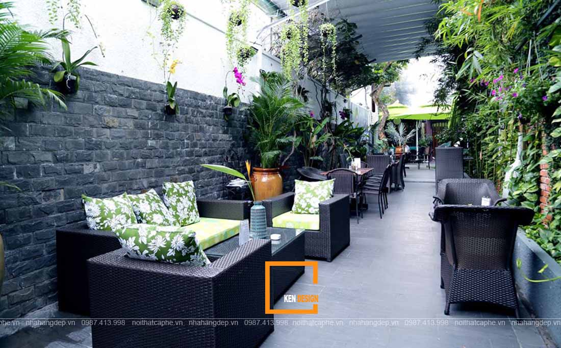 thiết kế quán cafe phòng trà tại Hồ Chí Minh