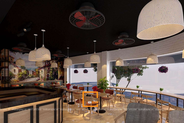 Thiết kế quán ACB Coffee