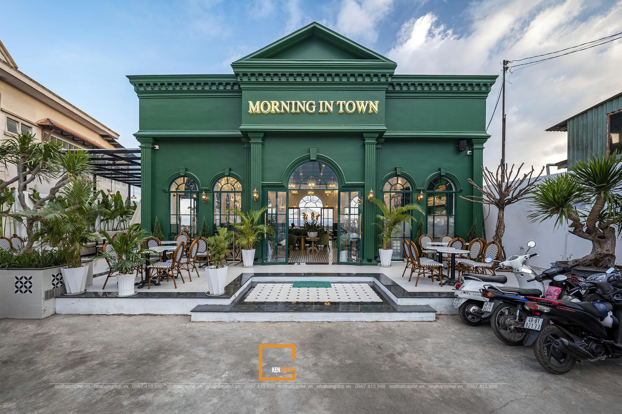 Dự án Morning In Town Cafe - Điểm hẹn bình minh đại ngàn