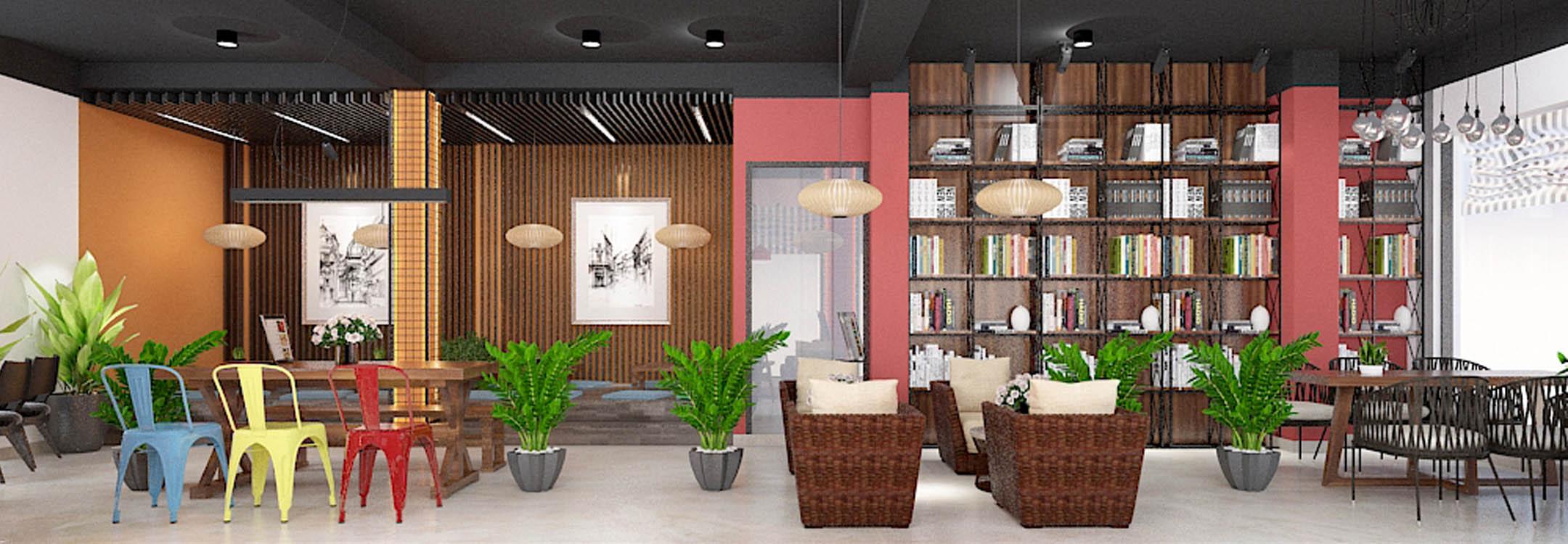 Thiết kế quán trà sữa House of Cha - Phan Văn Trường