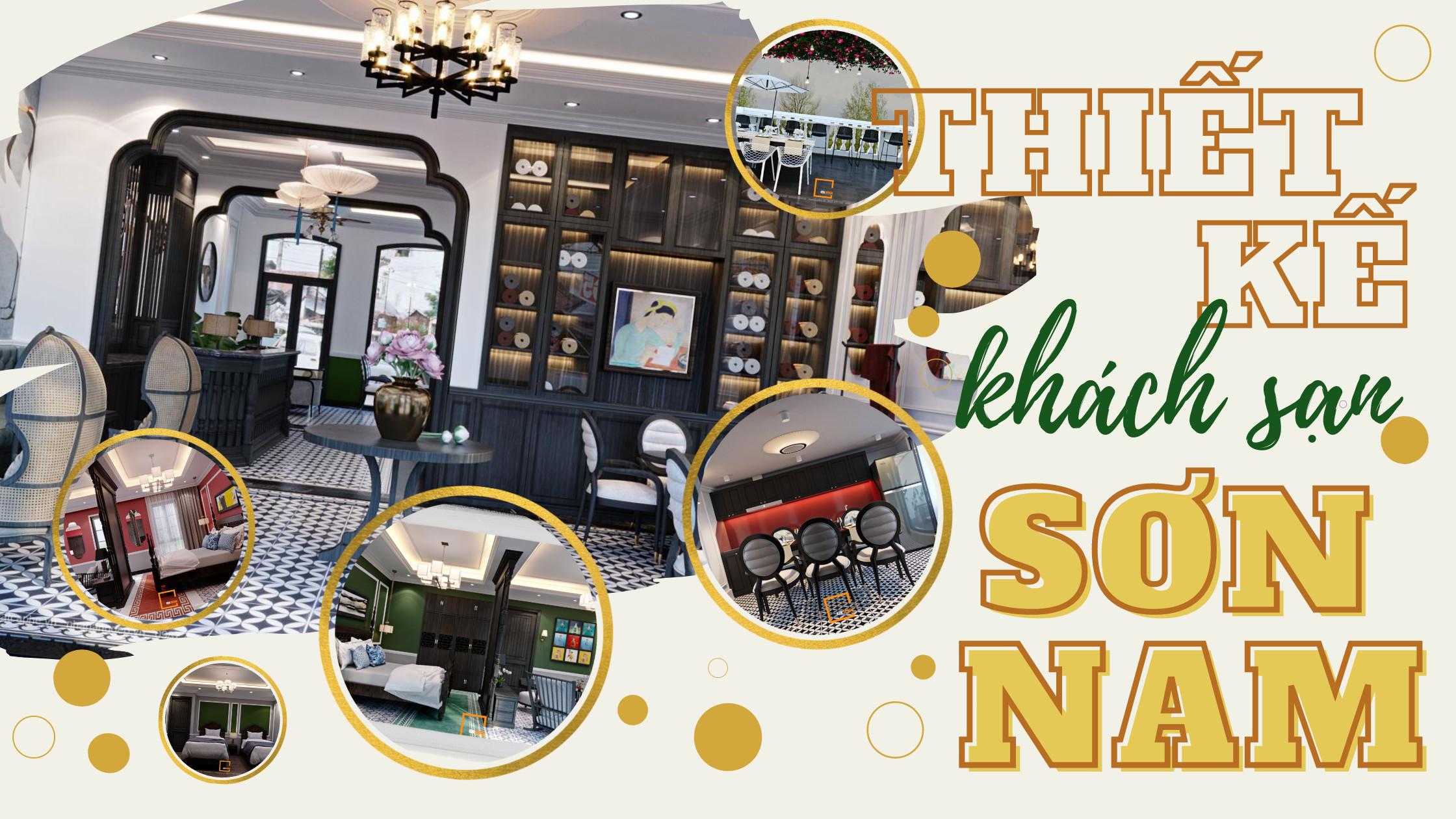 Ngắm nhìn phong cách Indochine độc đáo trong thiết kế khách sạn Sơn Nam