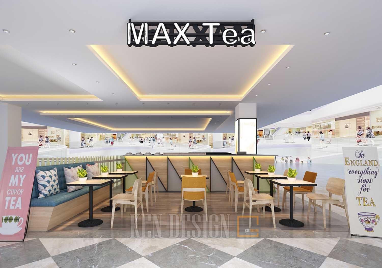 Trà sữa tại Trung tâm thương mại Max Tea