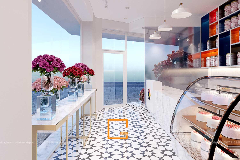 Thiết kế quán trà và hoa MIA
