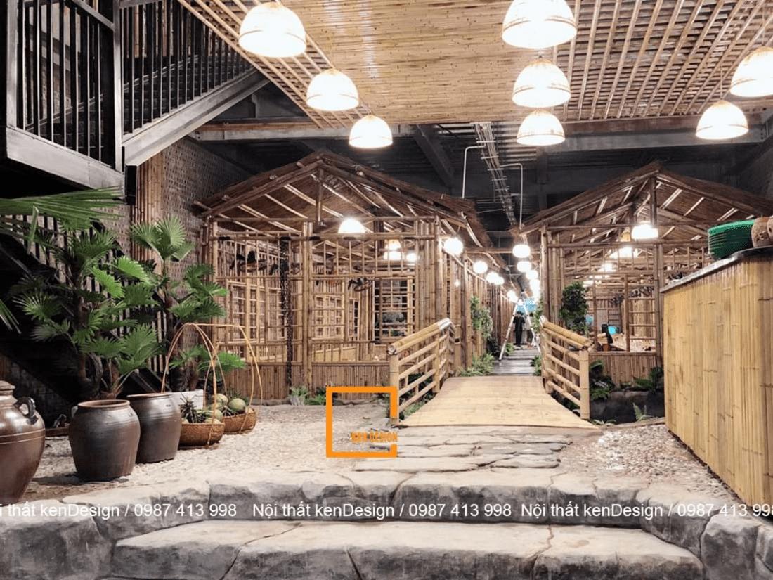 Thiết kế nhà hàng lẩu cua đồng – bức tranh thôn quê chưa bao giờ gần gũi hơn thế