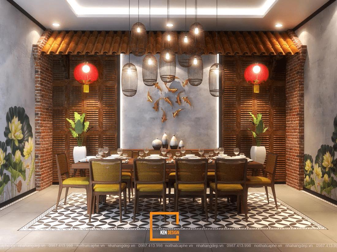 Thiết kế nhà hàng trâu ngon – món ngon đặc trưng ẩm thực Việt