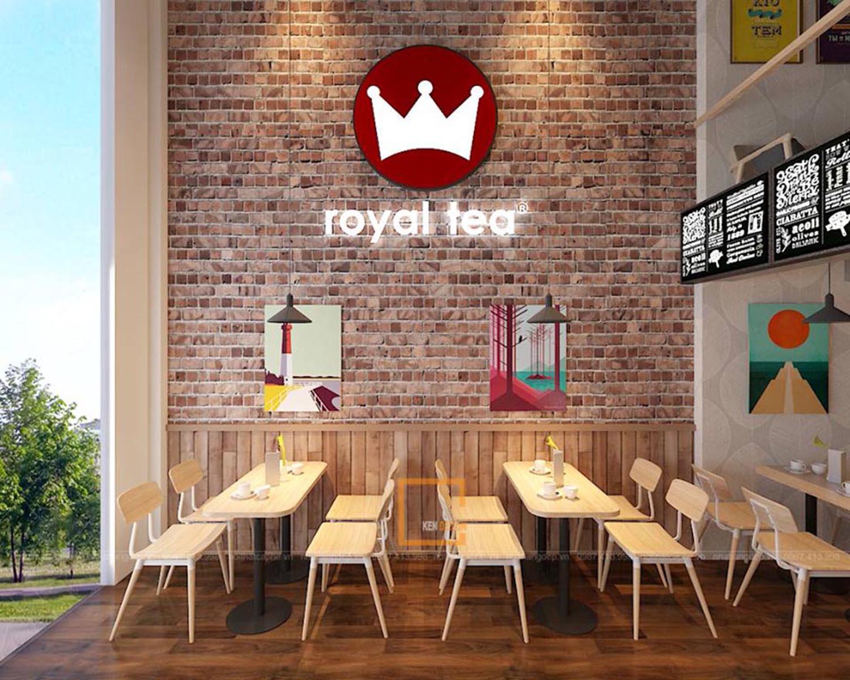 Thiết kế Trà Sữa Royal Tea Yên Nghĩa