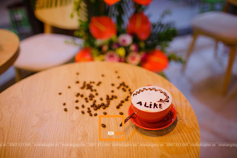 Thi công quán Alike Coffee