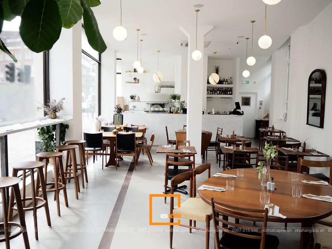 Khám phá những phong cách thiết kế nhà hàng Âu đang được săn đón