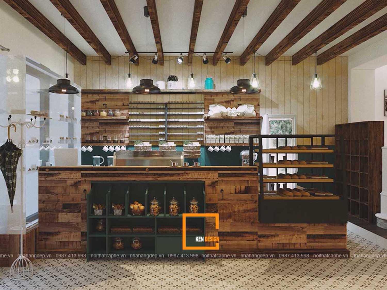 Thiết kế quán cafe, trà chiều BAKER BEAR