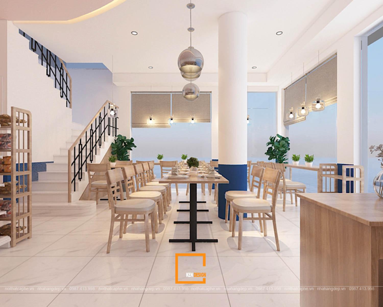 bản vẽ thiết kế nhà hàng độc đáo