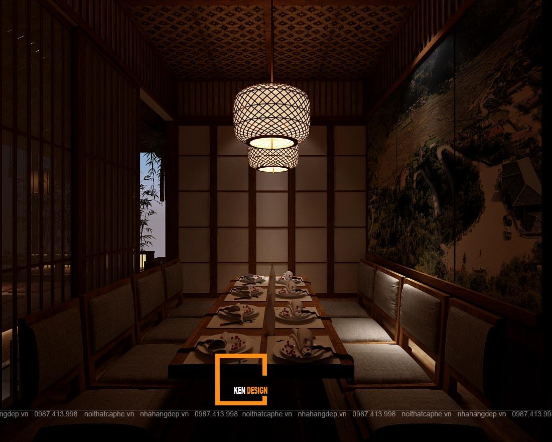 bảng giá thiết kế nhà hàng
