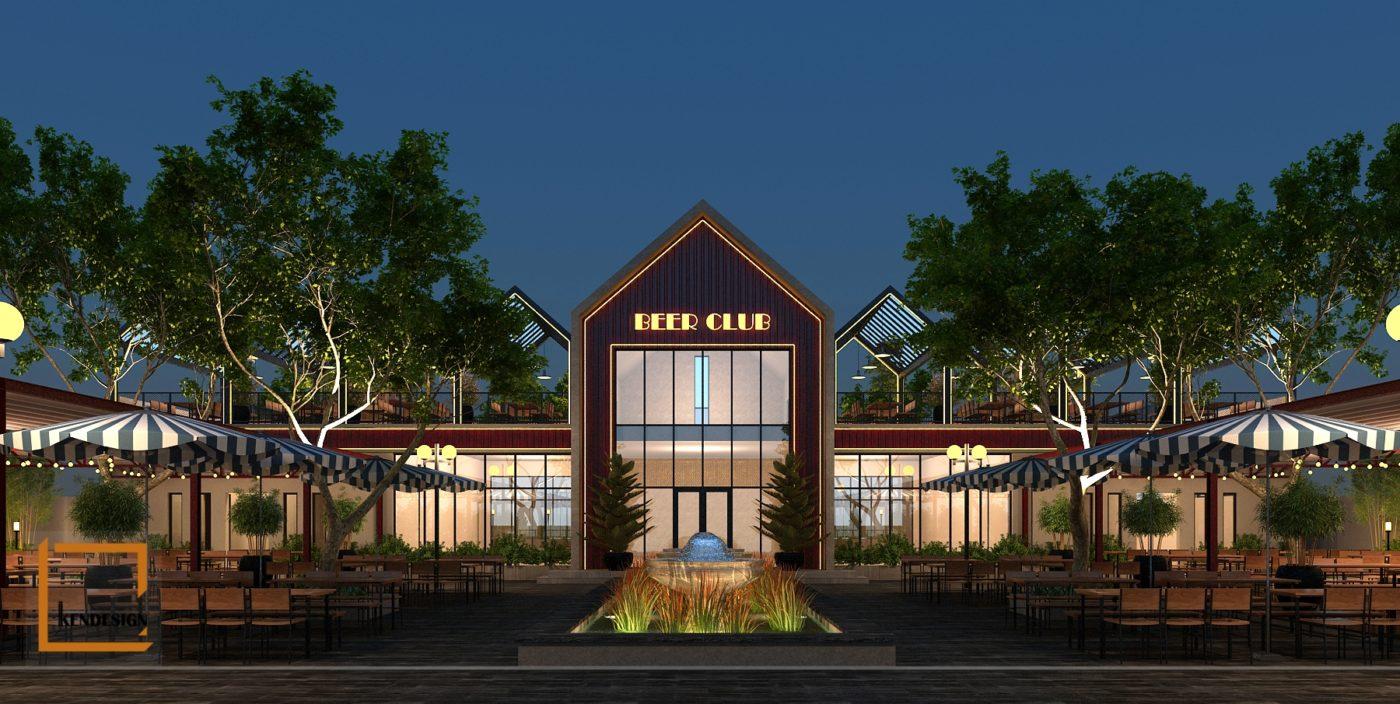 Thiết kế nhà hàng Beer Ngon - Beer Club