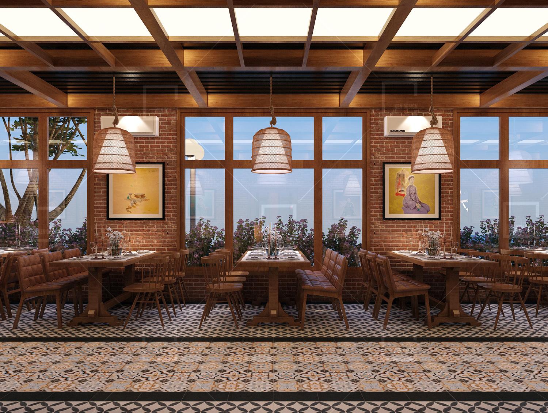 Thiết kế nhà hàng Tây Bắc