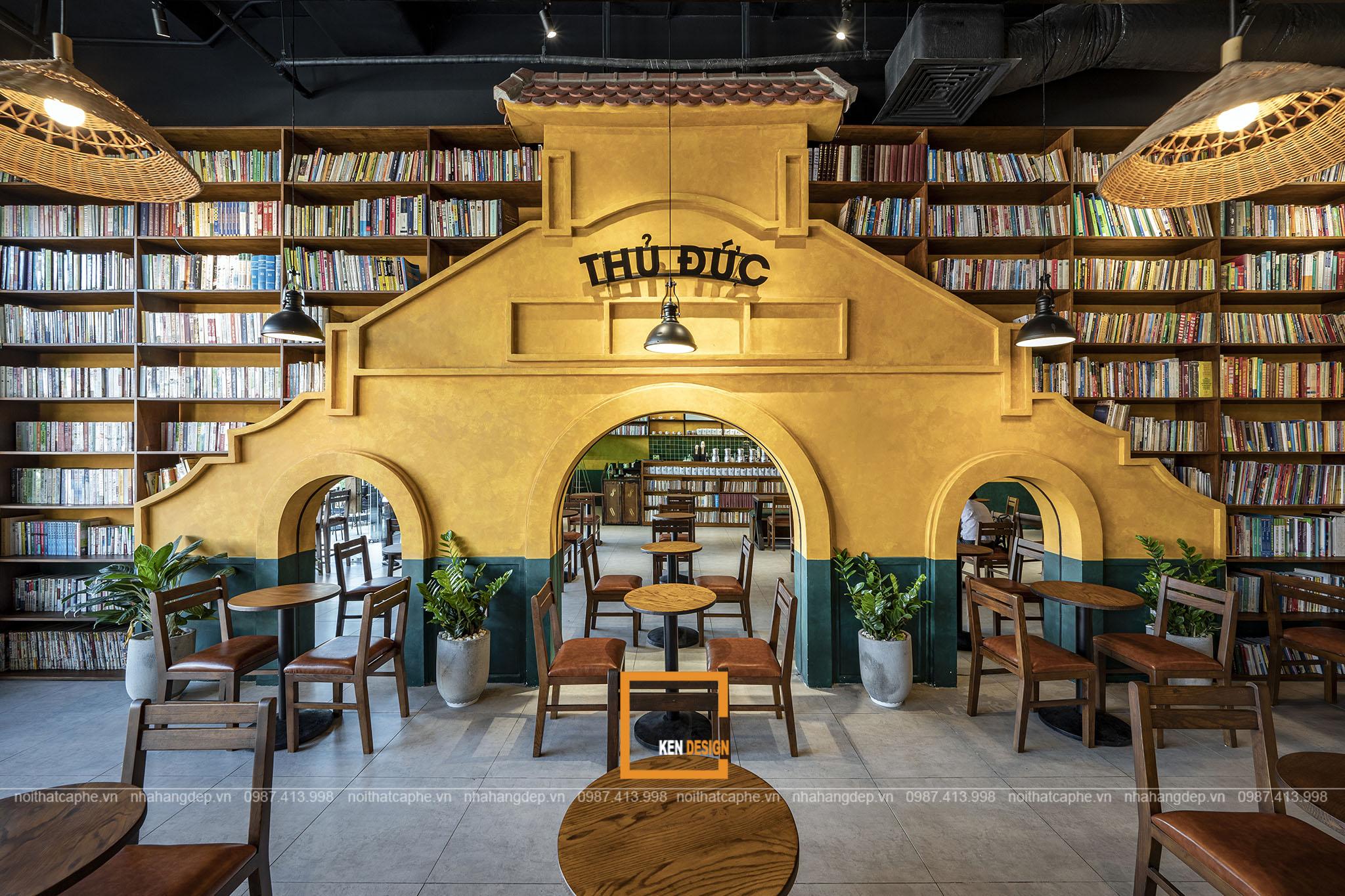 Thiết kế quán Buôn Cà phê tại Thủ Đức – Điểm nhấn không gian giữa lòng Sài Gòn