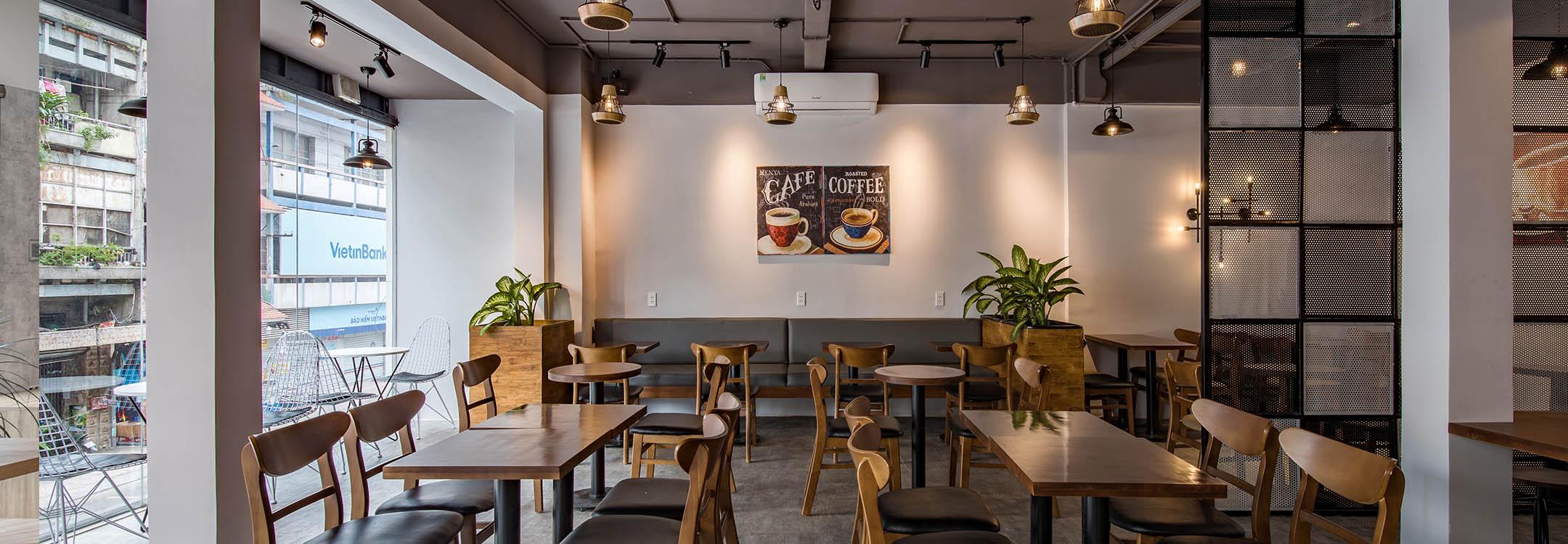 Tìm hiểu về chi phí thiết kế thi công quán cafe Caafe tại Hồ CHí Minh