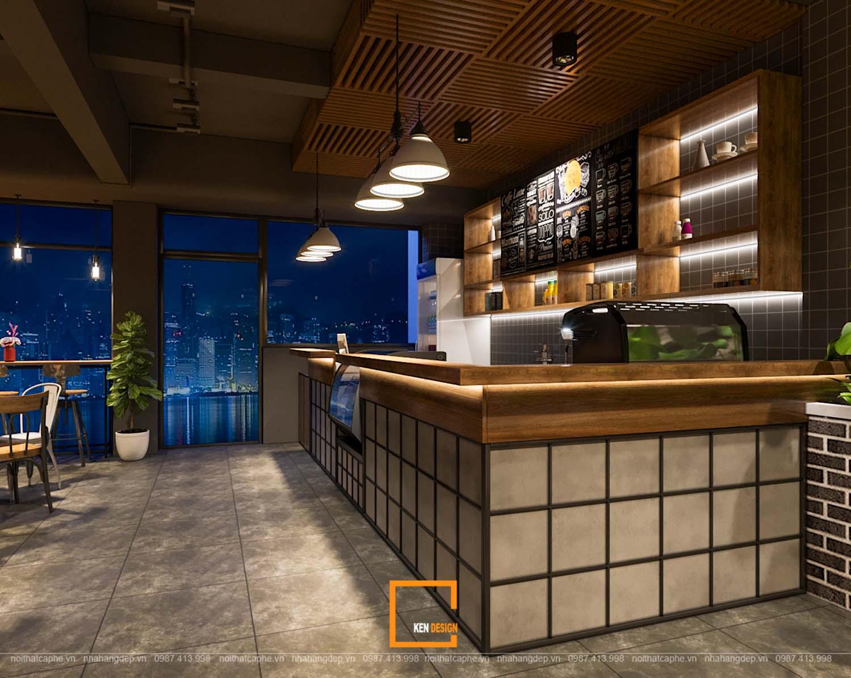 Thiết kế quán cafe Caafe