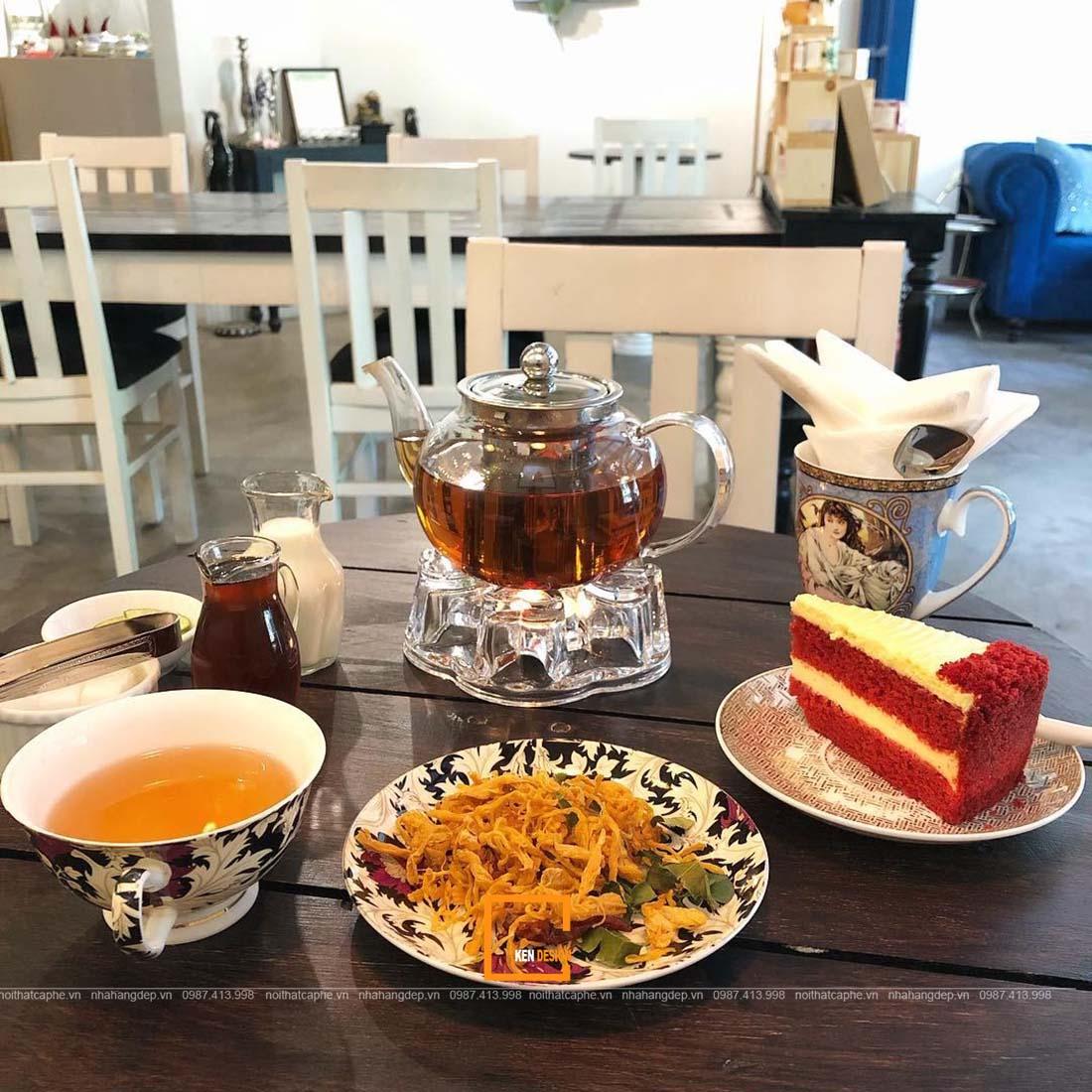 nguyên liệu quán trà bánh