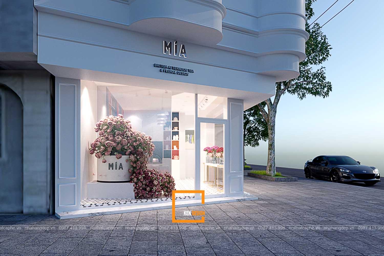 địa điểm kinh doanh trà bánh