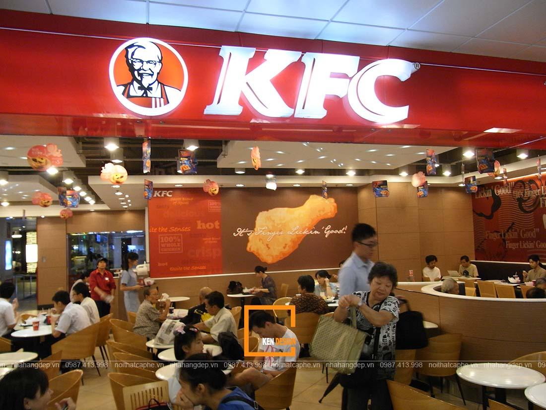 thiết kế nhà hàng fastfood