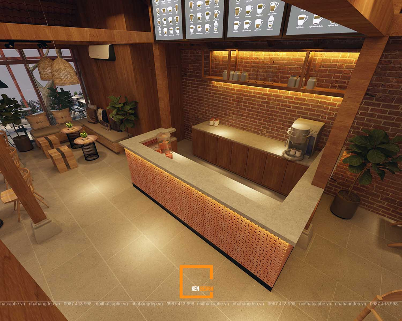 thiết kế quán cafe tại hà tĩnh