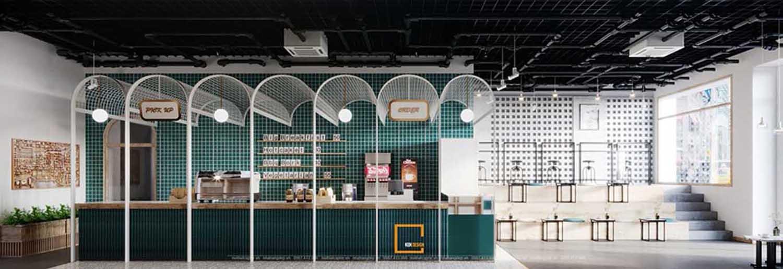 Thiết kế quán cafe tại Mỹ