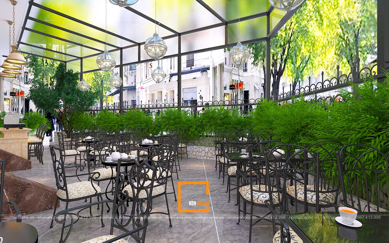 Thiết kế quán cafe khách sạn Hải Long