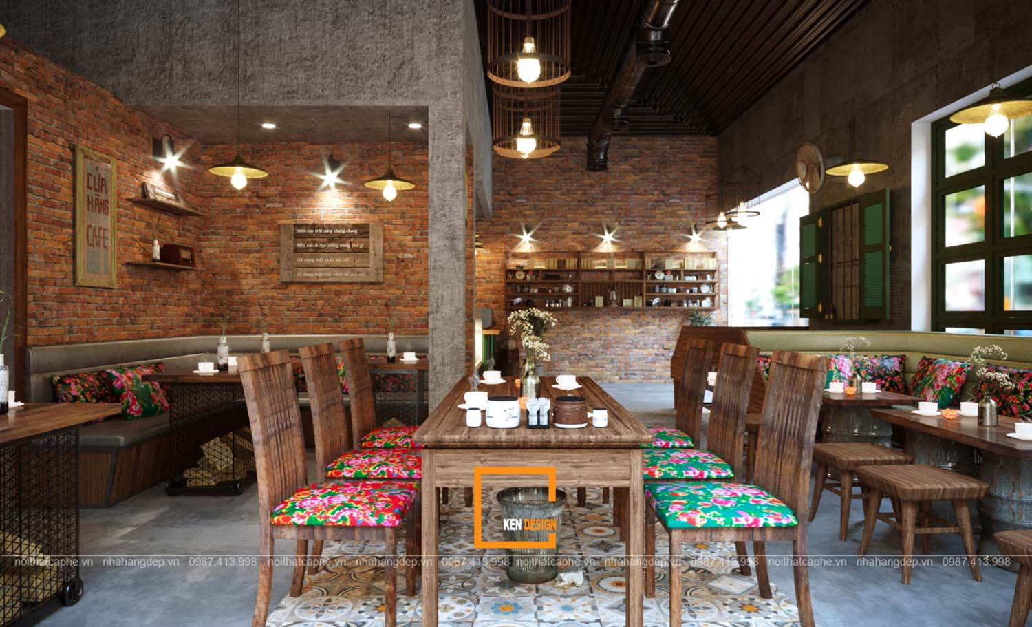 Thiết kế Old Quarter Coffee House