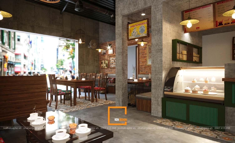 Thiết kế quán Old Quarter Coffee House