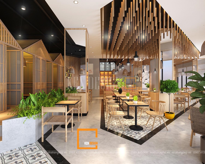 Thiết kế quán cafe tại KĐT Splendora, Hà Nội