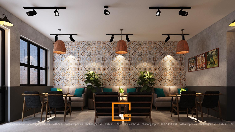 Thiết kế quán cafe Vạn Bảo