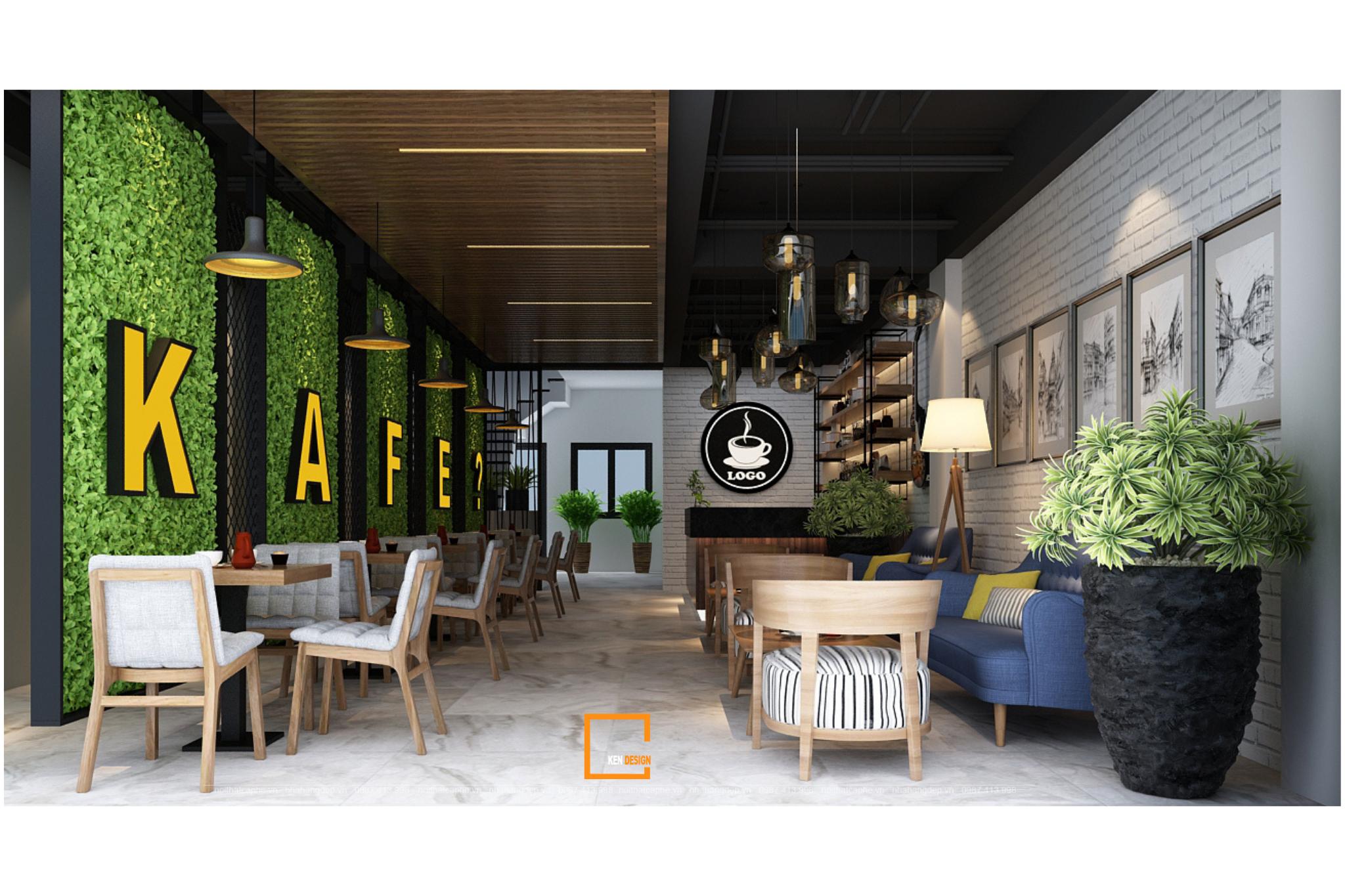 7 phong cách thiết kế quán cà phê xu hướng năm 2021