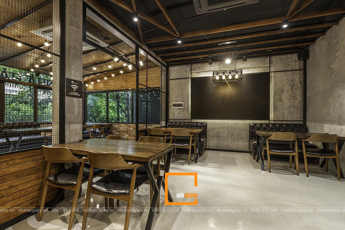 Thiết kế quán cafe phong cách công nghiệp chưa bao giờ lỗi mốt?