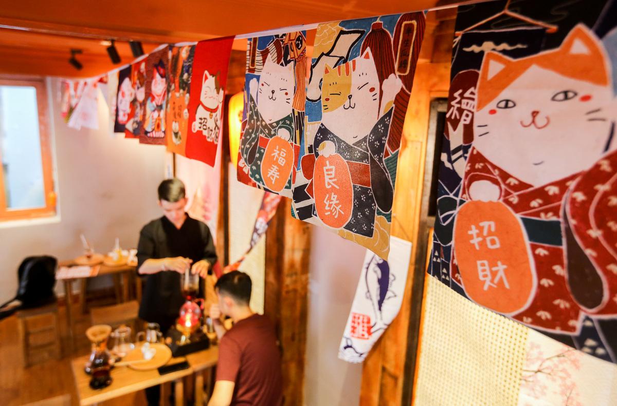 6 ý tưởng thiết kế quán cafe phong cách Nhật Bản
