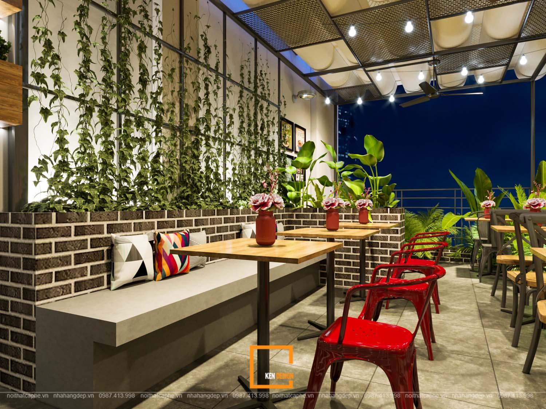chi phí thiết kế quán cafe năm 2020