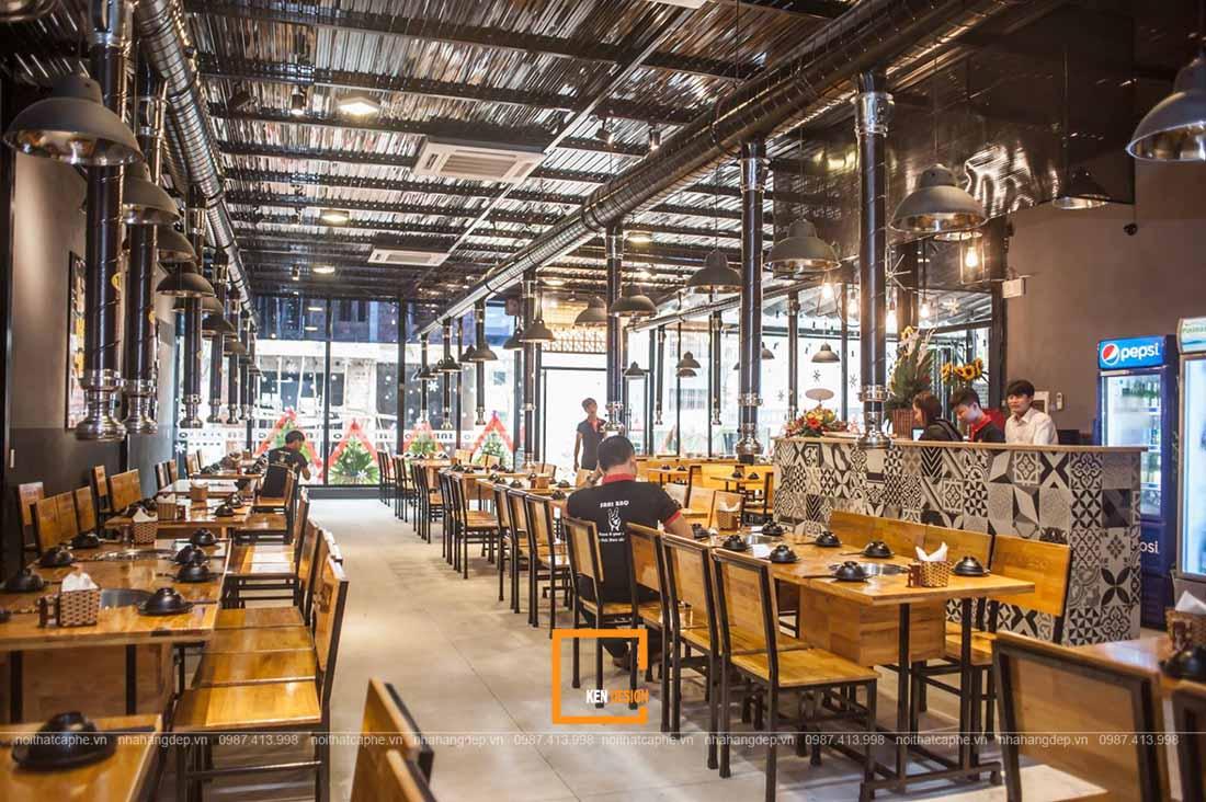 thiết kế nhà hàng lẩu nướng Hồ Chí Minh