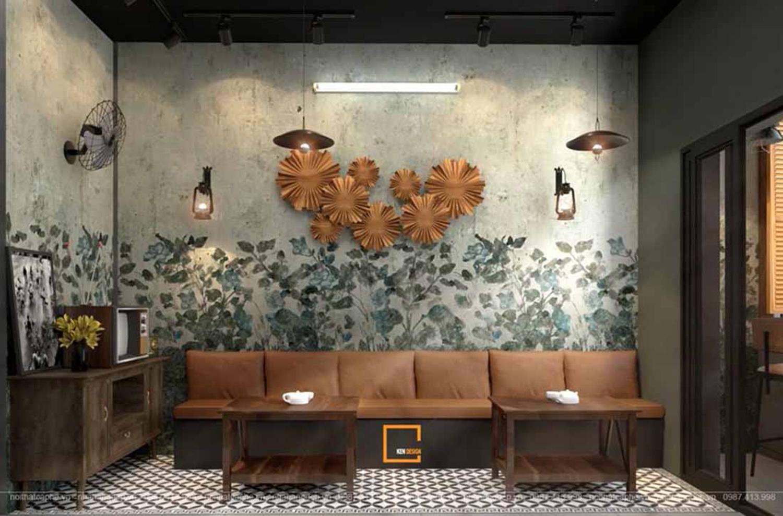 Mẫu thiết kế quán cafe phong cách vintage